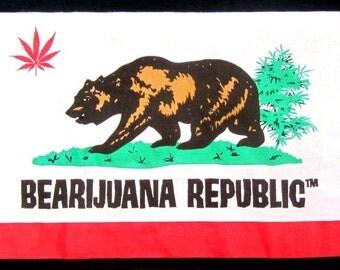 Bearijuana Republic T-shirt
