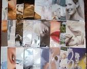 27 Homemade Seed Packet Envelopes  - Repurposed Martha Stewart Weddings