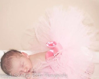 Baby Pink Baby's First Tutu Newborn Photography prop