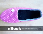 PDF Sewing Pattern - Ballerina Room Shoe Shoes ebook Patterns House