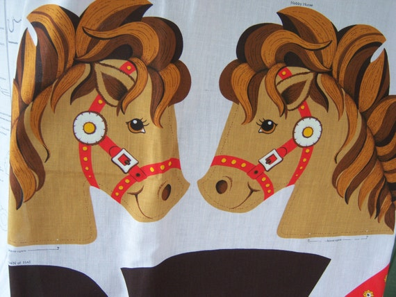 VIP fabric panel Cowgirl Cowboy 2 costume glow Childrens Horse pony Vest