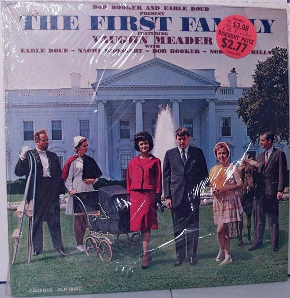 The First Family - Vaughn Meader, Bob Booker, Earle Doud - 1962 Cadence LP Album