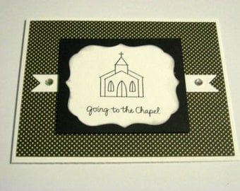 Going to the Chapel Wedding Card