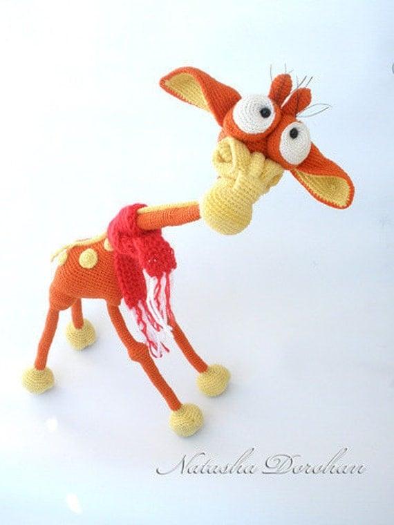 Amigurumi Wire : 005 Giraffe Crochet pattern PDF file. Amigurumi toy with ...