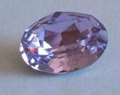 1 SWAROVSKI 4120 Sparkling Oval Crystal Fancy Stone 18mm VIOLET