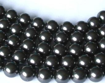 SWAROVSKI Crystal Pearl Beads 5810 BLACK
