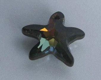 1 SWAROVSKI 6721 STARFISH Crystal 20mm Star TABAC