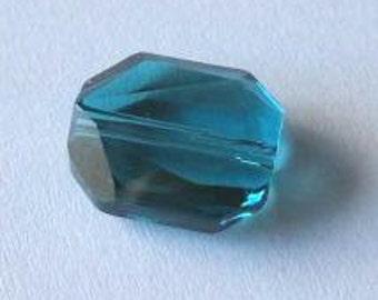 SWAROVSKI 5520 Graphic Octagon Crystal Beads INDICOLITE