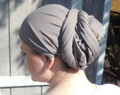 Grey Head Scarf / Headcovering