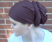 Brown Head Scarf / Headcovering