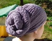 Lilac Head Scarf / Headcovering