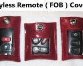 KEYLESS REMOTE ( FOB ) Covers (Vinyl) - Free Shipping - Multiple Sizes & I Will Make Special Order Sizes