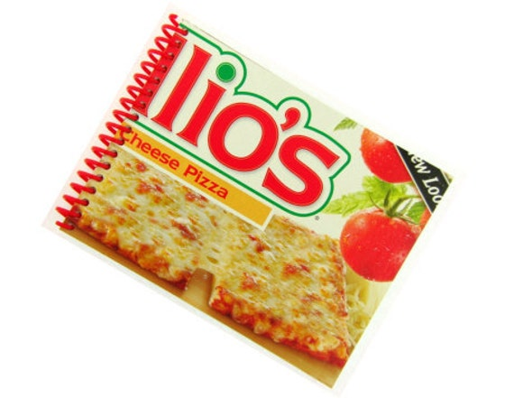 ELLIOS CHEESE PIZZA recycled spiral bound journal notebook