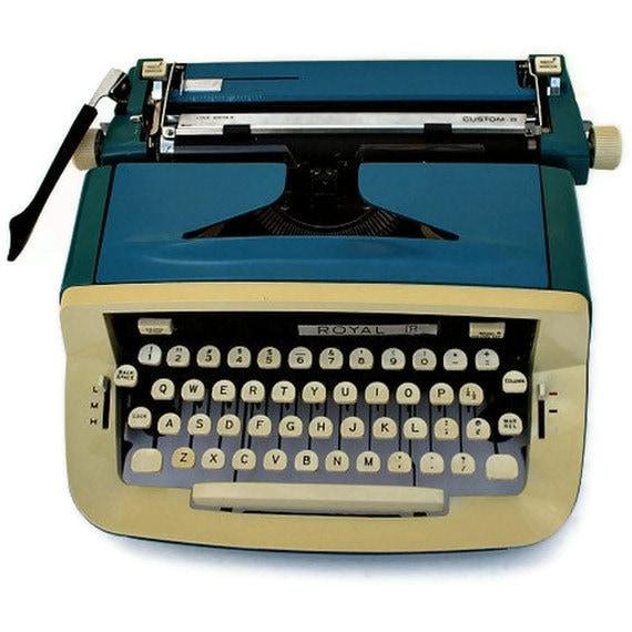 Etsy custom typewriter