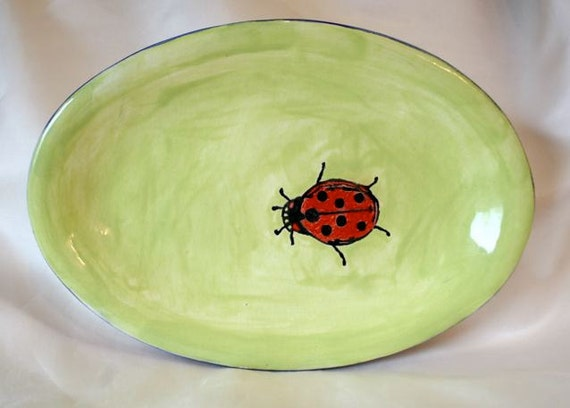 Lady Bug Plate
