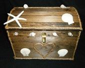 Beach Wedding Card Box