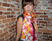 Have Love, Will Travel Scarf - Pink