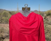 Beautiful Red Vintage Jozell Blouse