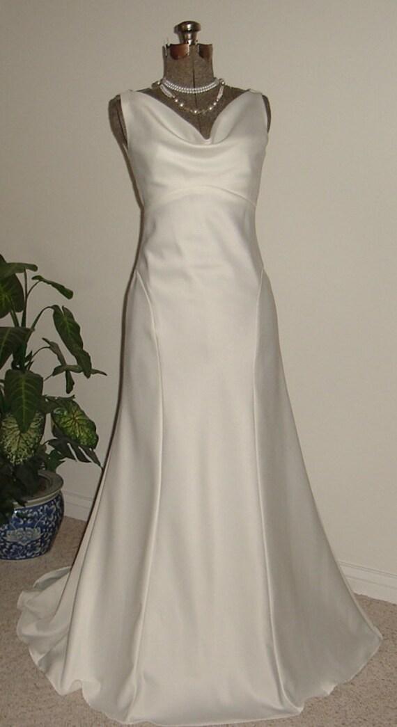 SABRINA vintage retro style wedding gown