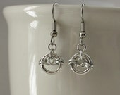 Chainmaille Circles Earrings