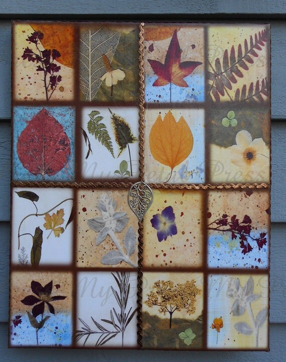 Botanical Art Print on Canvas