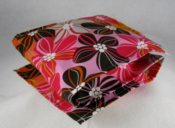 Microwave Rice or Flax Heating Pads Hot Cold Packs