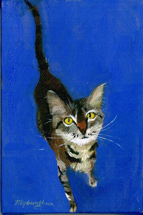 Feeling Blue, Oil on Canvas