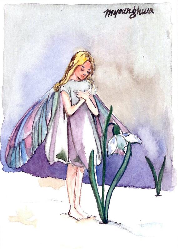 Snowdrop Flower Fairy Snowdrop Fairy Inspired by