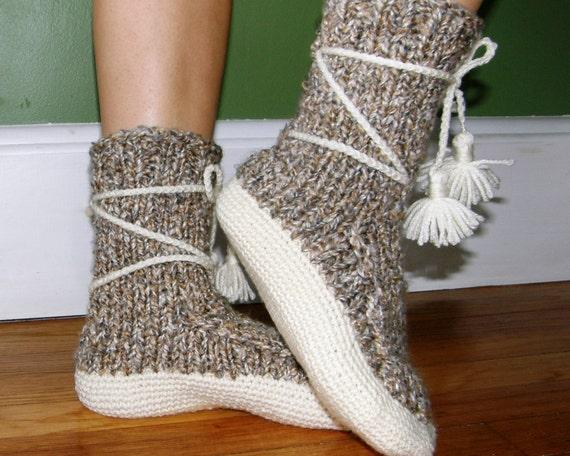 hand-made original knitted socks