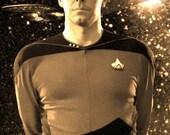 Star Trek TNG Anniversary Ltd. Ed. Geekograph Mini Metal Art