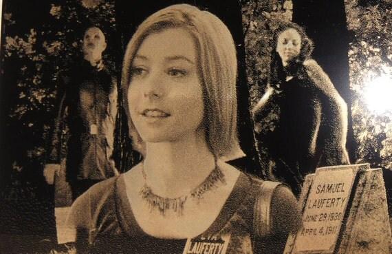 Buffy the Vampire Slayer Xander Anya Willow Geekograph Mini Limited Edition Metal Art