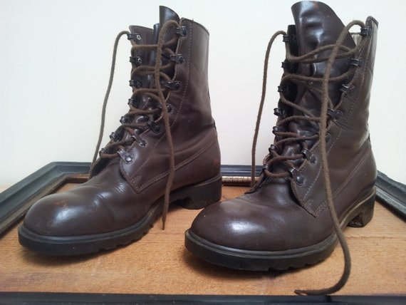 Great Dutch Army Military Bootcamp Boots sz 41 7,5 usa 9,5 Would you walk in my shoes..