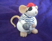 Little Pirate Mouse Miniature
