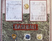 Baseball -  Premade Scrapbook Pages