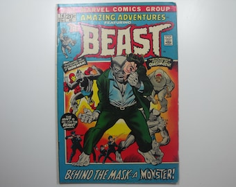 Amazing Adventures No.14 featuring the BEAST(1972)