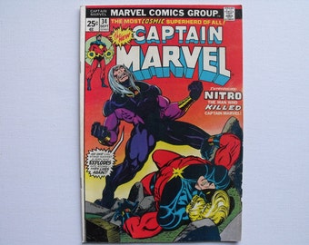 Captain Marvel No.34 (1974)