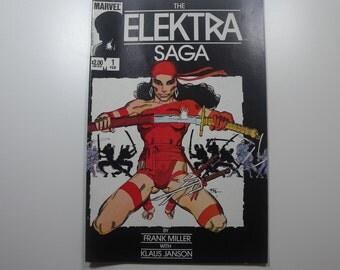 The Elektra Saga No.1 (1984)