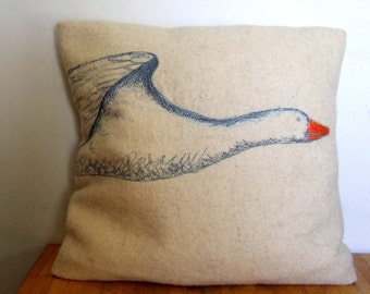 Snow Goose cushion