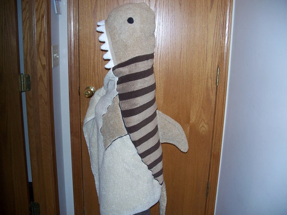 Sale--Tiger Shark Hooded Towel