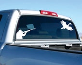 Duck Hunting Car Decal  FREE SHIPPING