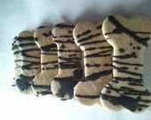 Carob Oatmeal Bones  For Your Dogs wheat free & gluten free