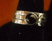 Rings Sterling Silver Stack Rings