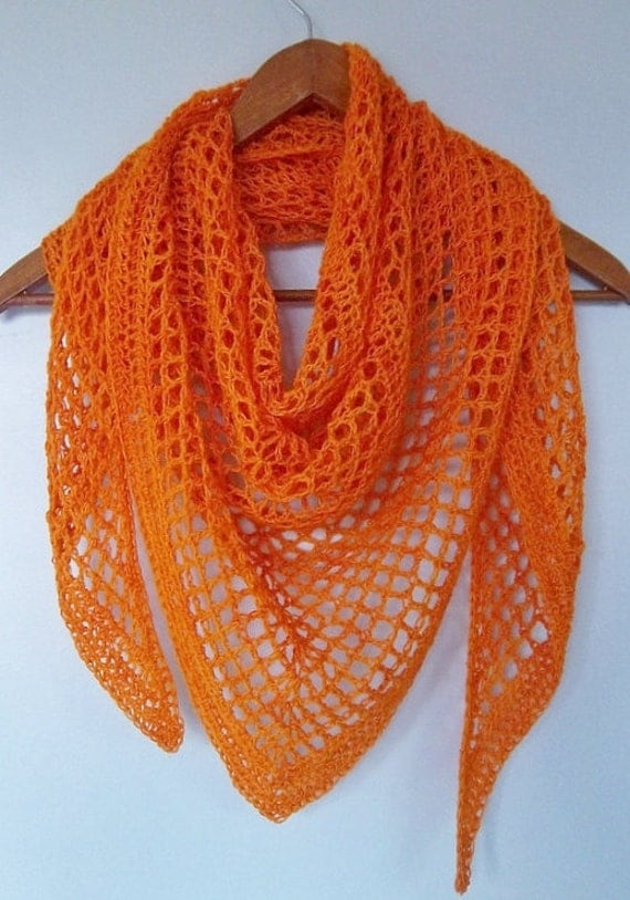 Crochet Lace Weight Shawl Pattern : Melon Shawl crocheted all seasons weight Scarf lace wrap