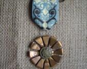 Steampunk Flower Medal