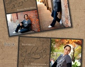 Concrete Graduation Invitation - Printable - Customizable