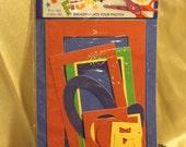Primary Colors Frame Set Sheet