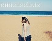 Sonnenschutz - Photoshop Action