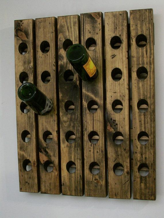 wine riddling rack antique style distressed wood winerack. Black Bedroom Furniture Sets. Home Design Ideas