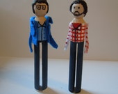 Flight of the Conchords Bret and Jemaine Christmas Ornaments