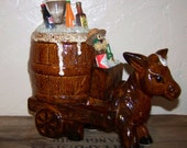 Donkey Keg Donkey Beer Keg Bar Set Bar Decor Vintage Beer Collectible
